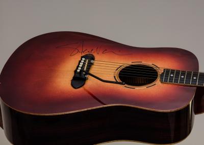 Predice Hendricks Acoustic Tremolo Custom Guitar With Steve Vai Autograph 2