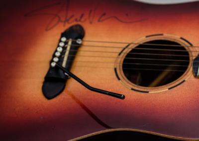 Predice Hendricks Acoustic Tremolo Custom Guitar With Steve Vai Autograph