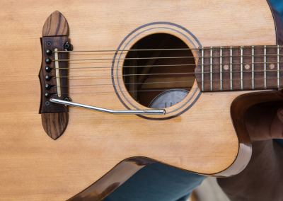 Predice Hendricks Acoustic Tremolo Custom Guitar with P.H.A.T. System 1