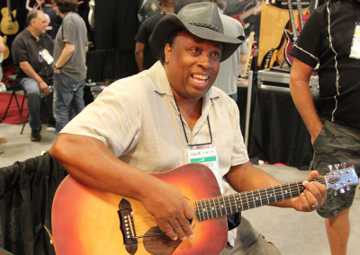 The P.H.A.T. System as demonstrated by Inventor Predice Hendricks at NAMM 2015