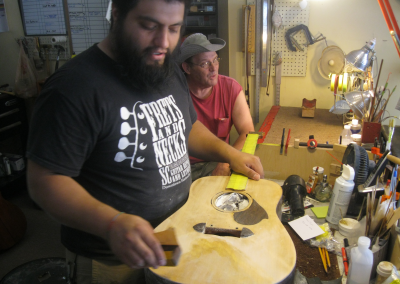 (Boot)  B.A. Ferguson Manufacturer of Custom Guitars with the P.H.A.T. System